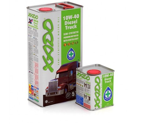 Масло XADO Atomic Oil 10W-40 SL/CF Diesel Truck (1л.)