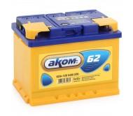 АКОМ 62 Ah  R+