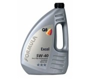 Масло Q8 5W40 Excel, 4л., производство Бельгия