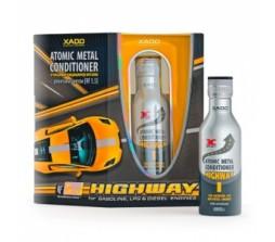 XADO Highway Атомарный кондиционер металла для двигателя, защита от текущего износа