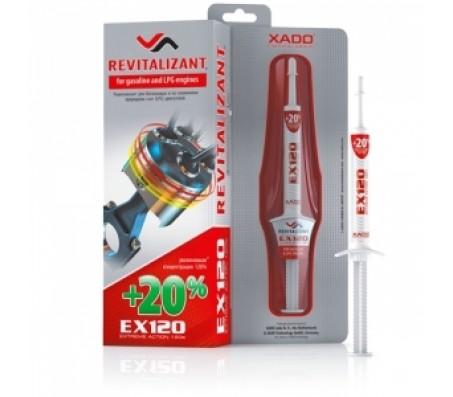 XADO Revitalizant EX120 для бензиновых двигателей усиленный ревитализант.